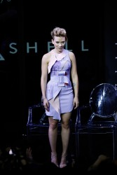 Scarlett Johansson -           Global Trailer Launch for Paramount Pictures' ''Ghost in the Shell'' Tokyo November 13th 2016.