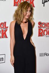 Myleene Klass -                         ''School of Rock'' Musical VIP Night London November 14th 2016.