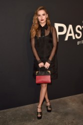 Zoey Deutch - Prada 'Past Forward' by David O. Russell Premiere in LA 11/15/16