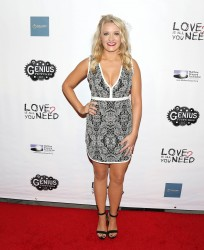Emily Osment at the Love Is All You Need? Premiere in Los Angeles - 11/15/16