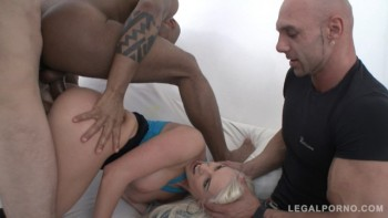 Blanche Bradburry assfucked by 3 guys in front of her real boyfriend SZ1278 (2016) 720p