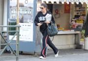 Alena Seredova is seen visiting the 8