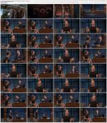 Rebecca Romijn @ Late Night with Seth Meyers   November 17 2016