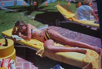 Diane Lane: Sunbathing Early 80's: MQ x 1 *Tagged*