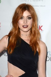 Katherine McNamara - Nyle DiMarco Foundation Love & Language Kickoff Campaign in Beverly Hills 11/29/16