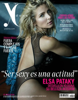 Elsa Pataky - Yo Donna Magazine Spain December 2016