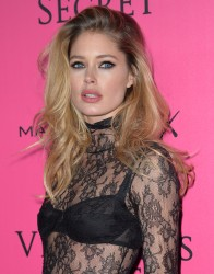 Doutzen Kroes - 2016 Victoria's Secret Fashion Show After Party in Paris 11/30/16