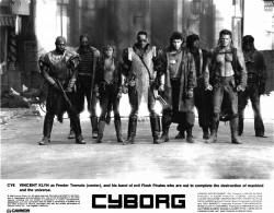 Киборг / Cyborg; Жан-Клод Ван Дамм (Jean-Claude Van Damme), 1989 0e7952518412192