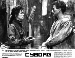 Киборг / Cyborg; Жан-Клод Ван Дамм (Jean-Claude Van Damme), 1989 Afa5b7518412199