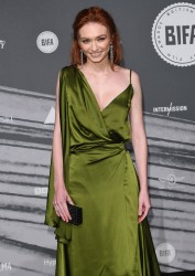 Eleanor Tomlinson -            British Independent Film Awards London December 4th 2016.