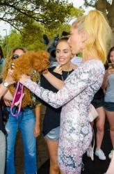 Hailey Baldwin - Hailey Baldwin for ModelCo Cosmetics Launch in Sydney 12/5/16