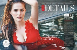 Zoey Deutch in GQ magazine UK January 2017 x1