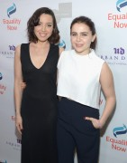 Aubrey Plaza -                  Make Equality Reality Gala Beverly Hills December 5th 2016 With Mae Whitman.