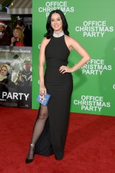 Katy Perry - 'Office Christmas Party' Premiere in Westwood 12/7/16